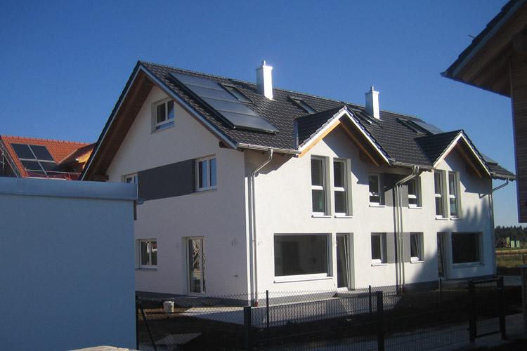 doppelhaus holzhaus h henkirchen siegertsbrunn heim und hausbau gmbh co kg. Black Bedroom Furniture Sets. Home Design Ideas